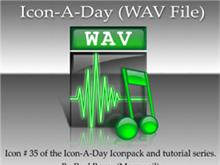 Icon-A-Day #35 (WAV File)