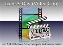 Icon-A-Day #54 (Video Clip)