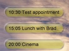 Outlook Appointments