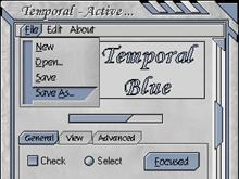 Temporal Blue