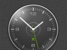 Corsair Sidebar Clock