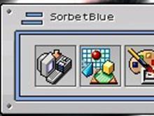 Sorbet Blue II Object Desktop