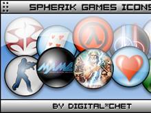 Spherik Icons - Games