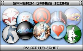 Spherik Icons - Games