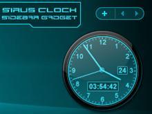 Sirus Sidebar Clock