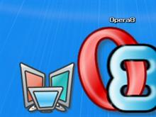 Opera 8 Dock Icon