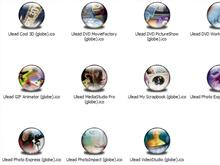 Ulead Apps XP Icons (Globe)