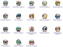 Adobe Apps (alt) XP Icons (globe)