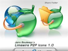 Limewire P2P Icons 1.0