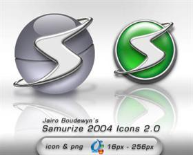 Samurize 2004 Icons 2.0
