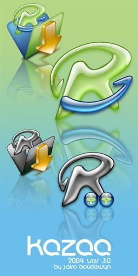 Kazaa 2004 icons 3.0