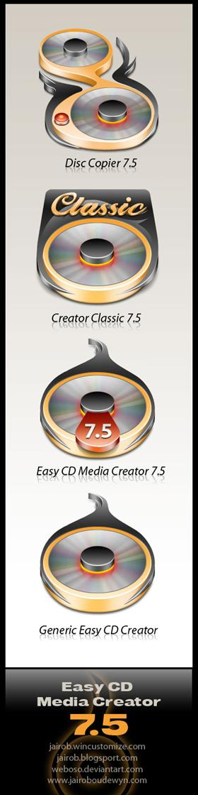 Easy CD Media Creator 7.5