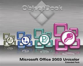 Microsoft Office 2003 Unicolor Extended Pack