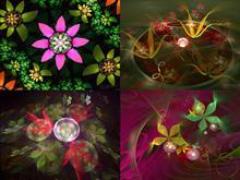 Flowerings Pack 1 by love1008