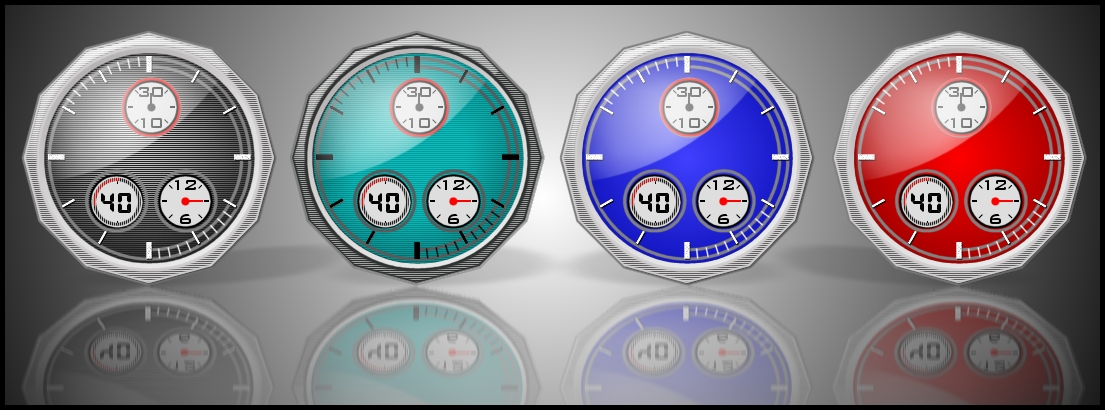 CHRONO CLOCK SET