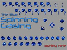 The Blue Spinning Gasing