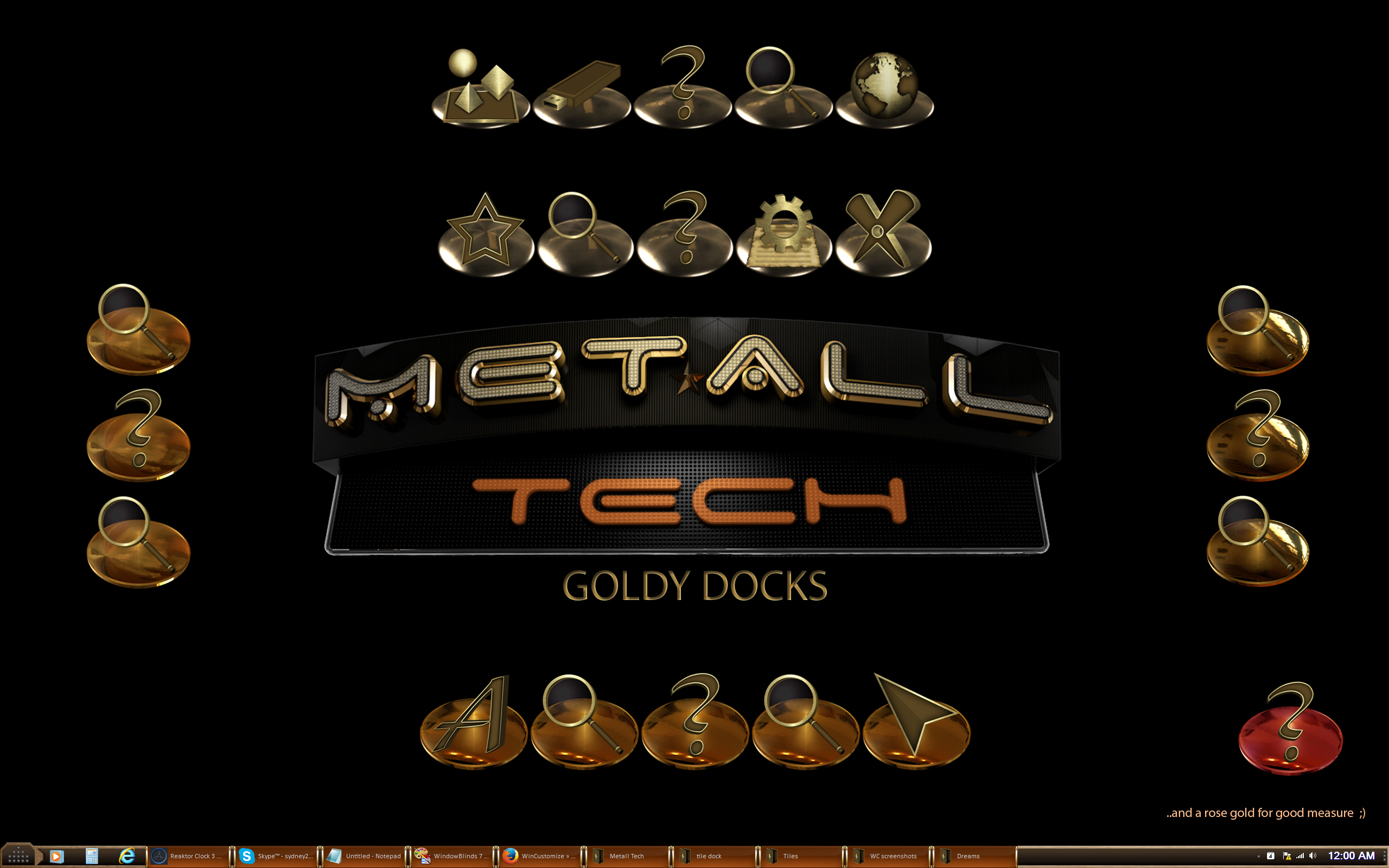 Metall Tech Goldy Docks