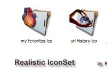 Realistic IconSet (web folders)