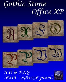 Gothic Stone Office XP