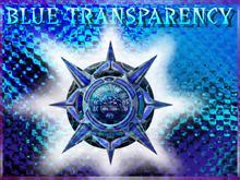 BLUE TRANSPARENCY
