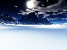 In the shadow of Clouds