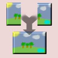 Panorama Stitch / Maker Icon