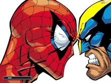Marvel - Spiderman vs Serval Wolverine