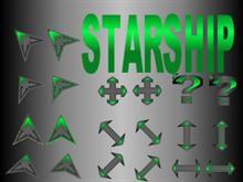 Starship Green