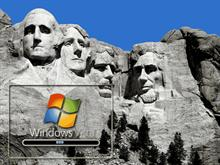 Windows Vista Rushmore