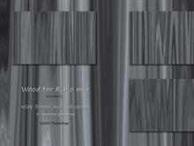 Wood for K r o m e - Gunmetal