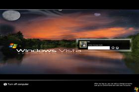 Windows Vista (Night Skye)