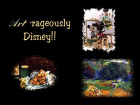 Art-rageously Disney!