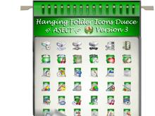 Hanging Folder Icons Deuce