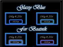 Glassy Blue