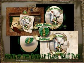 Order Of The Emerald Flame Pack