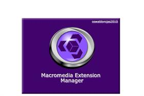3D Macromedia Extension Manager