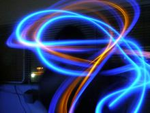 Glowsticking With Background