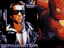 Terminator&amp;Spiderman