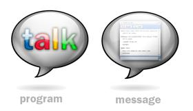 Google Talk icons