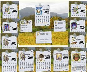 Calligraphy Calendar