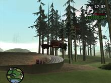 GTA:SanAndreas - FlyingTruck