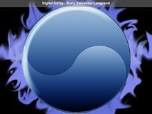 Elektric Blue Ying yang