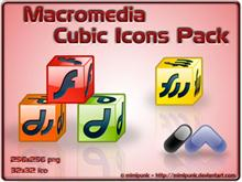 Macromedia Cubic Icons Pack