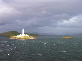 Lighthouse Catching Sun