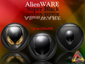 AlienWARE Super Black Icons