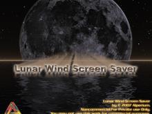 Lunar Wind Screen Saver