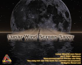 Lunar Wind Screen Saver