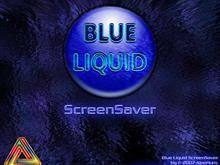 Blue Liquid ScreenSaver