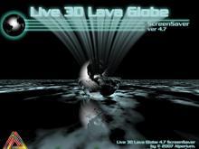 Live 3D Lava Globe Wide 4.7