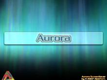 Aurora ScreenSaver